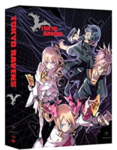 Tokyo Ravens: Season 1, Part 1 (Limited Edition Blu-ray/DVD Combo) from Funimation