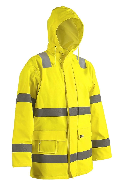 Blakläder dichte Regenjacke PU Warnschutz Klasse 3 4326 kaufen