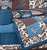Sweet-Jojo-Designs-Blue-and-Brown-Tropical-Hawaiian-Surf-Beach-Baby-Boy-Bedding-9pc-Crib-Set