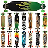 MAXOfit Deluxe Cruiser Longboard (Green Fire No.13)...