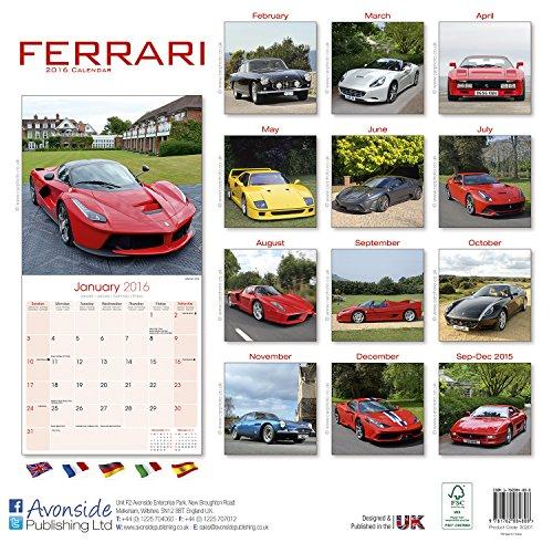 Ferrari Calendar 2016