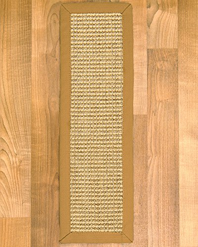NaturalAreaRugs Monterrey 100-Percent Sisal Carpet Stair Treads Rug Set, 9-Inch by 29-Inch, Set of 13