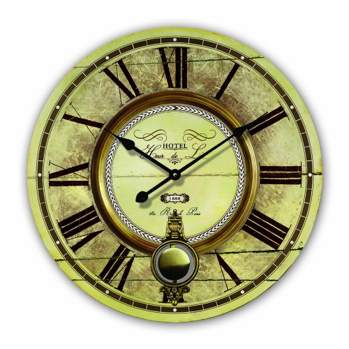 Slection des moins cher horloge murale grande with grande horloge murale pas cher for Pendule murale grande taille