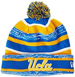 NCAA UCLA Bruins New Era College NE14 Sport Knit Beanie, One Size, Blue