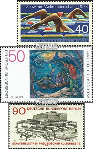 berlin-west-571572577-completeissue-1978-swimming-hofer-library-stamps-for-collectors