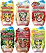 Montagne Jeunesse Fruity Beauty  Face Masque Sachets - Pack of 6