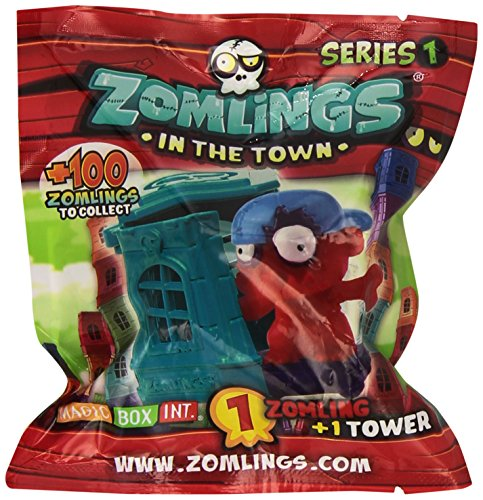 1 x Zomlings In The Town Tower Single Figure Pack