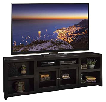 95.06 in. Super TV Cabinet in Mocha Finish