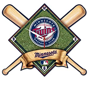MLB Minnesota Twins High Definition Clock by WinCraft