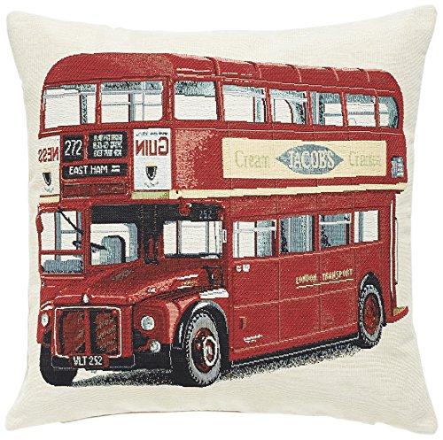 Vestio 16.45.21 Kissenhülle London Bus Gobelin, 45 x 45 cm
