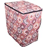 Lithara Floral Brown Washing Machine Cover For Semi Automatic Machine For Godrej WS Edge 700 CTL 7 Kg Washing Machine