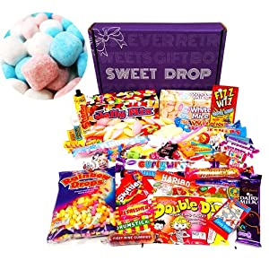 The Best Ever Retro Sweets MEGA BOX + Bonbons Pack (a sweetshop in a box!)