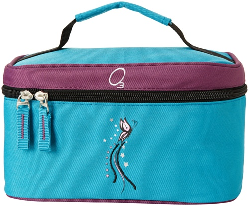 Obersee Kids Toiletry And Accessory Bag, Butterfly