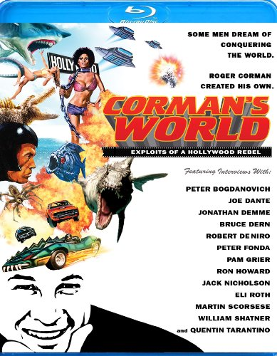 Cover art for  Corman&#039;s World: Exploits of a Hollywood Rebel [Blu-ray]