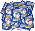 100 Assorted Pokemon Trading Cards with 7 Bonus Free Holo Foils by The Pokemon Company International