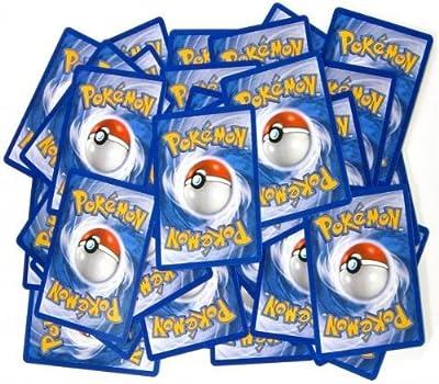 100 Assorted Pokemon Trading Cards with 7 Bonus Free Holo Foils by The Pokemon Company International