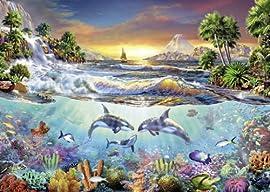 Puz 1000 Underwater Paradise Sch Multi
