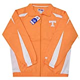 VF Tennessee Volunteers NCAA Mens Full Zip Windbreaker Jacket Orange Big & Tall Sizes (XLT)