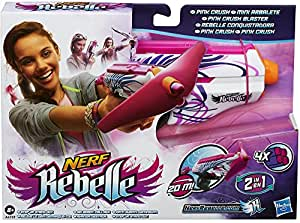 Hasbro A4739E27 - Nerf Rebelle Pink Crush