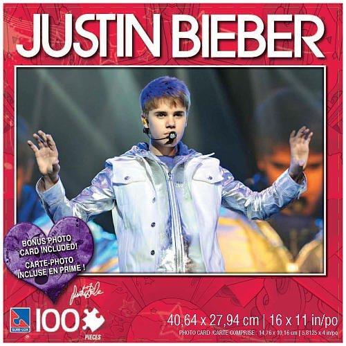 Justin Bieber 100 Piece Jigsaw Puzzle Justin in Concert