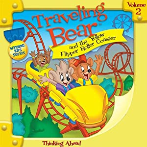 Traveling Bear and the Yellow Flipper Roller Coaster | [Christian Joseph Hainsworth]