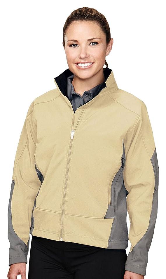 Tri-Mountain Women's Fleece Lined Soft Shell Jacket