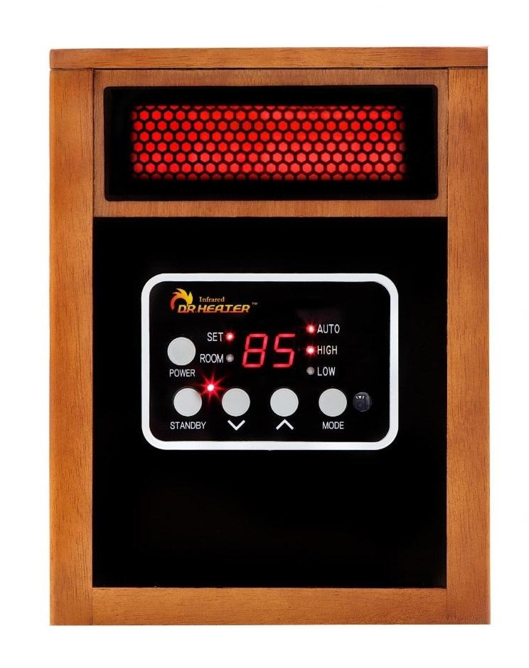 Low Wattage Electric Heaters Amazon.com - Dr Infrared Heater Portable Space Heater ...