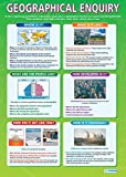 Geographical Enquiry Geography Educational Wall ChartPoster in laminated paper A1 850mm x 594mm