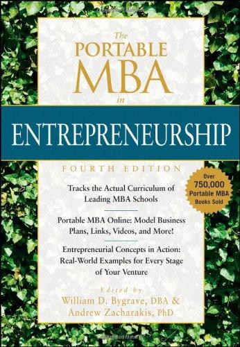 The Portable MBA in Entrepreneurship (The Portable
