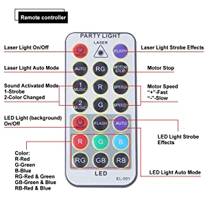 CHINLY Party Lights RGB 3 Lens DJ Disco Stage Laser Light ... on horn strobe wiring diagram, motorcycle light wiring diagram, fog machine wiring diagram, led strobe switch, speaker strobe wiring diagram, strobe light wiring diagram, led strobe circuit diagram, led strobe turn signals,