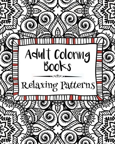 1 Adult Coloring Books Relaxing Patterns