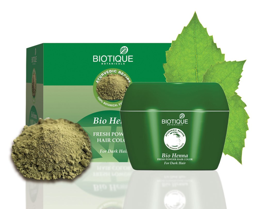 Amazon: Biotique Bio Heena Fresh Powder Hair Color For Greying Hair, 90gm @ Rs 99 (50% OFF) || FREE Delivery