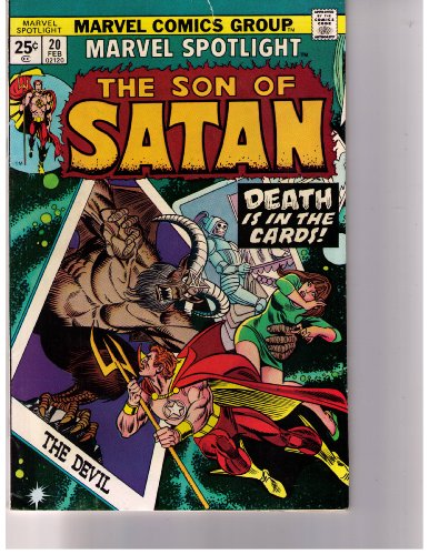 Marvel Spotlight Son Of Satan #20 back-213844