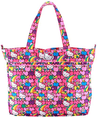 Ju-Ju-Be Hello Kitty Collection Super Be Zippered Tote Diaper Bag, Lucky Stars - 1