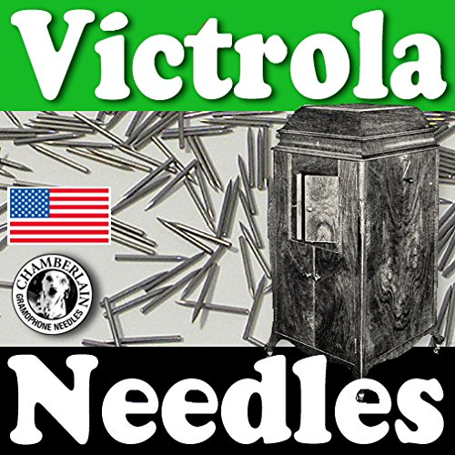 1000 Loud Tone Victrola Phonograph Needles By Chamberlain Phonograph Needles