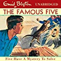 Five Have a Mystery to Solve: Famous Five, Book 20 Audiobook by Enid Blyton Narrated by Ann Beach