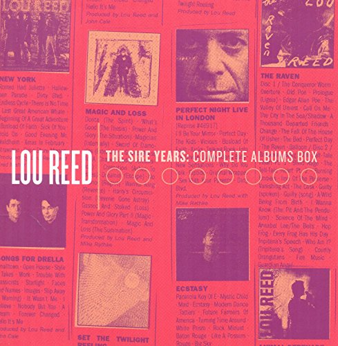 Lou Reed - The Sire Years: Complete Albums Box (10cd) - Zortam Music