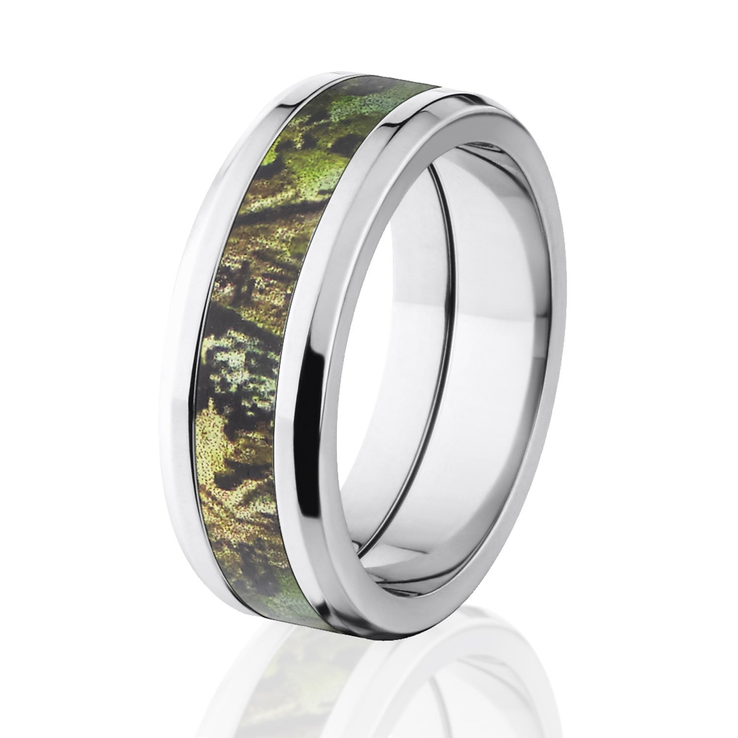 Amazon.com: camo wedding rings - $90-$500: Clothing, Shoes & Jewelry