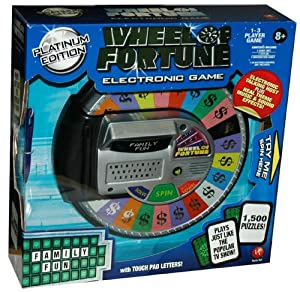 electronic wheel of fortune game