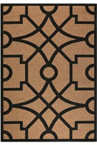 Martha Stewart Living Fretwork All Weather Area Rug 2 7x8 2 Runnr Coffeeblack Area Rug Sets Asfdasrgesdfsgn