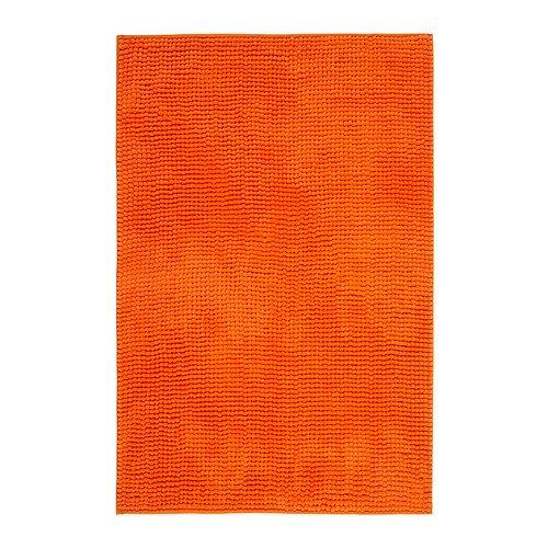 IKEA Orange Toftbo Bath Shower Mat Rug Bathtub Bathroom