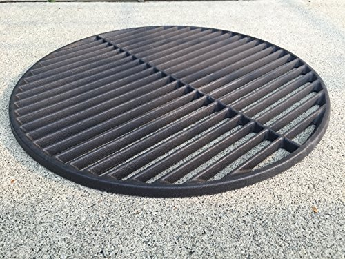 69991 Cast Iron Round Cooking Grid Replacement Part (Big Green Egg Cooking Grid compare prices)
