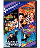 4 Film Favorites: Family Comedies (Funky Monkey, Looney Tunes Back In Action, Osmosis Jones, Space Jam)