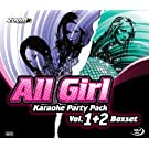 Zoom Karaoke - All Girl Karaoke Party Pack 1 & 2 - Four CD+G Set