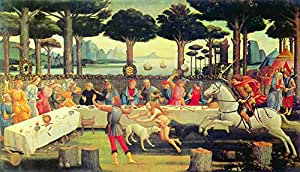 Third episode by Botticelli - Poster (24 x 18 Inch): Posters & Prints