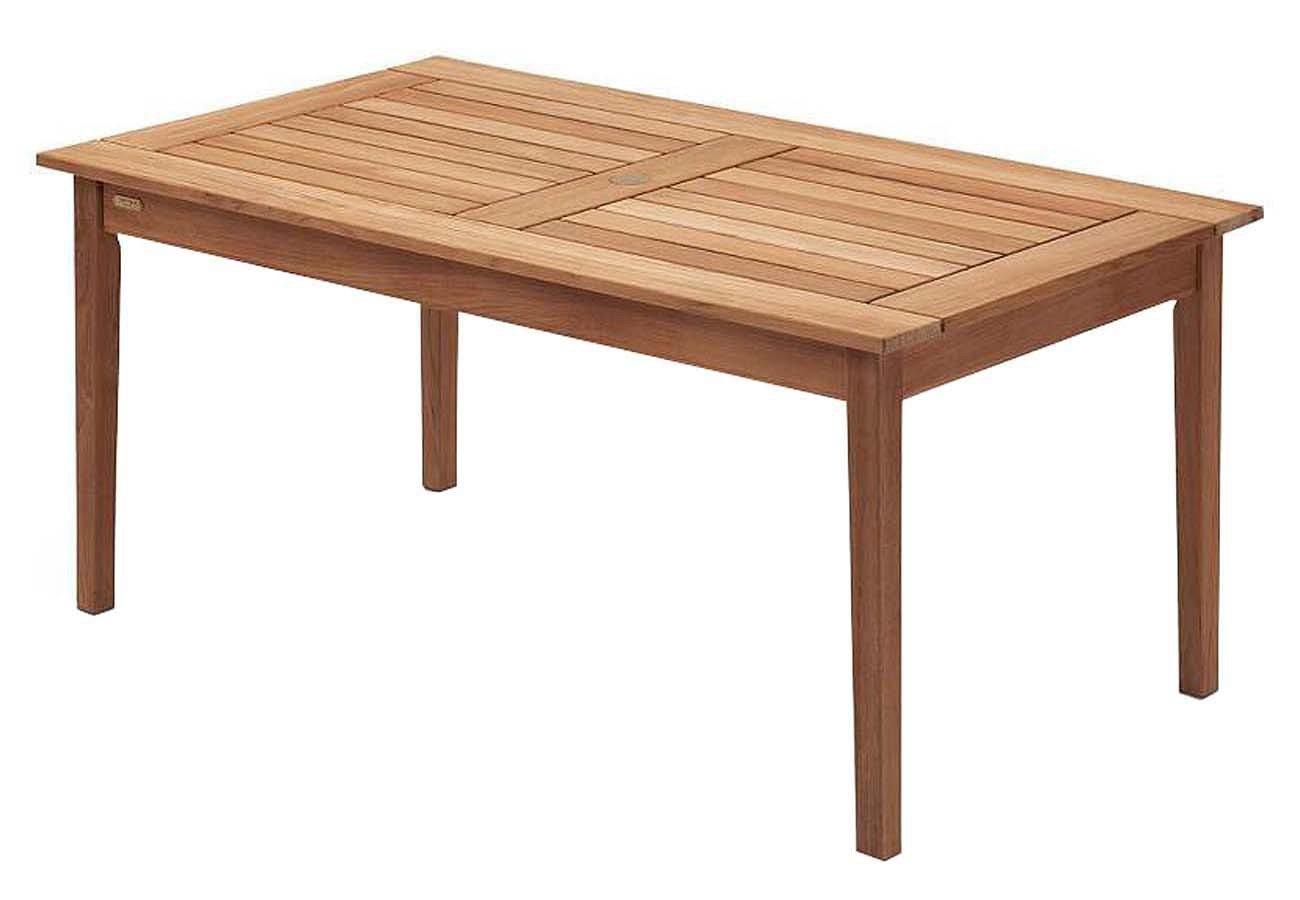 Skagerak Drachmann Tisch Teak 86×156 cm Gartentisch S1042015 jetzt kaufen