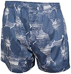 Shy Guy Pleasure Wear Men's Cotton Boxer Shorts (Blue)