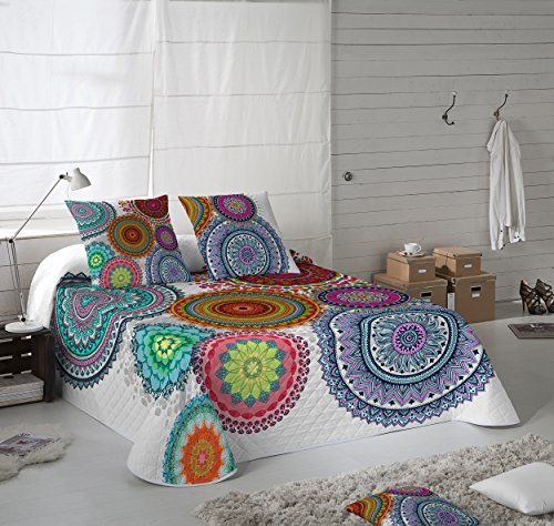 NATURALS Colcha Multipunto FREYA cama para entretiempo (Cama 135)