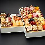 博多久松 洋風本格3段重おせち Sakurazaka 6.5寸3段重 全34品 (2016年12月28日着)
