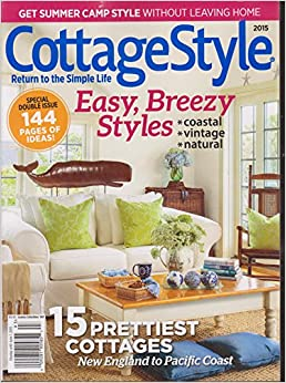 Country collectibles magazine 93 cottage style 2015 for Country cottage magazine